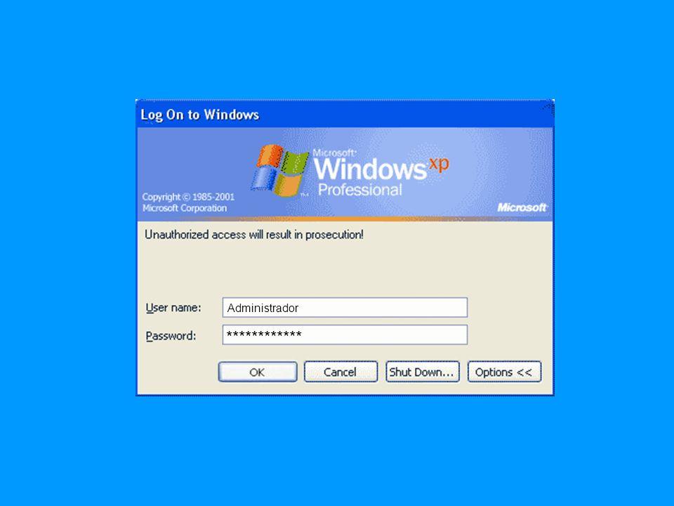 Administrador Password 1 Password 2 Password 3 Password 4