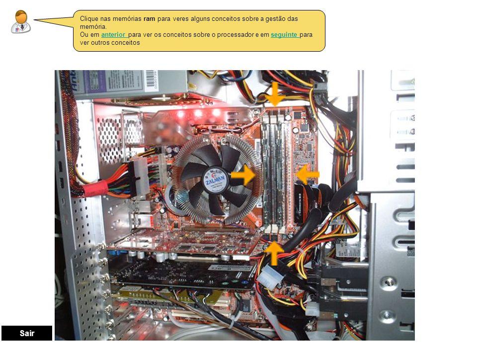 Estes são os conceitos básicos da gestão do processador ao nível da sua planificação: Processador Unidade de Controlo Unidade Aritmética e Lógica Registos Voltar
