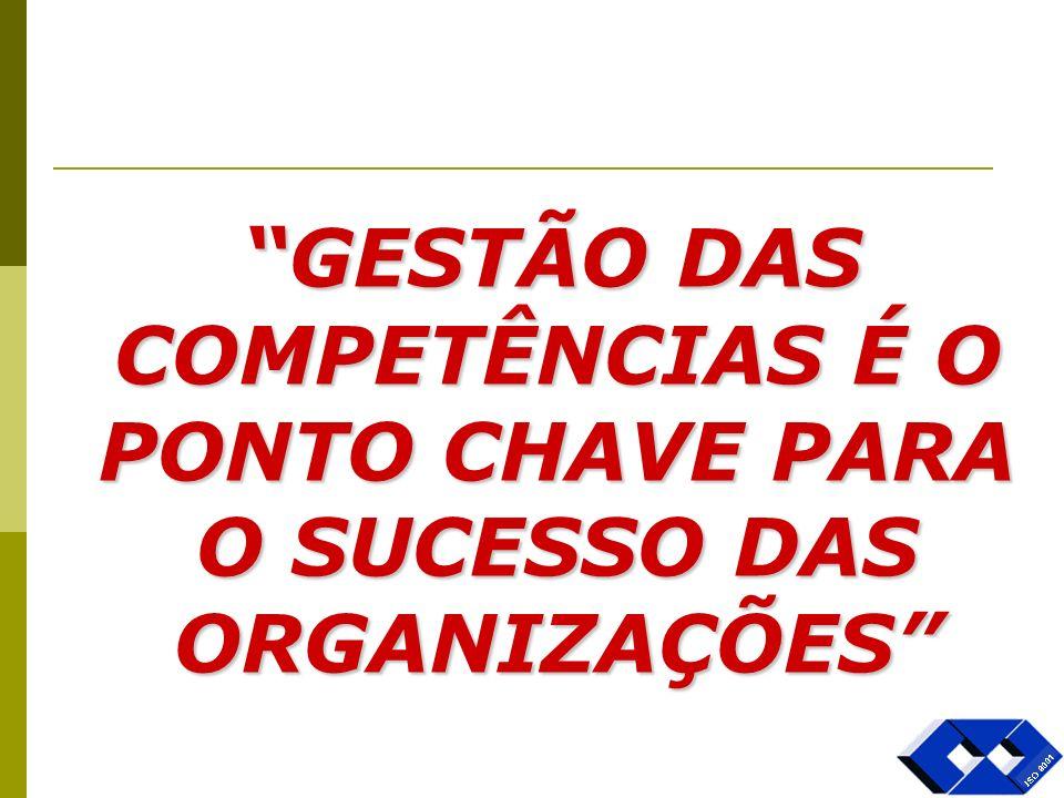 Onde estão as competências: Na Gestão Nos Processos Nos Controles Na Aplicação dos Recursos Na Estratégia Ambiente Interno/ Ambiente externo= Vantagens Competitivas