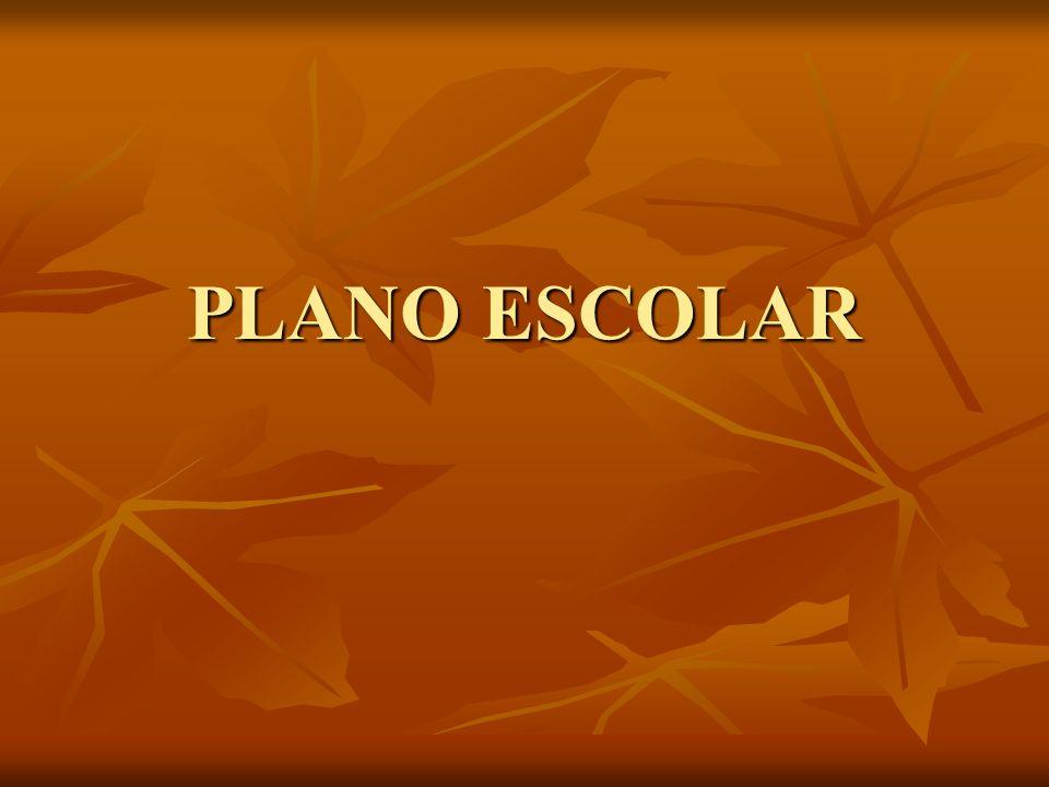 PLANO ESCOLAR