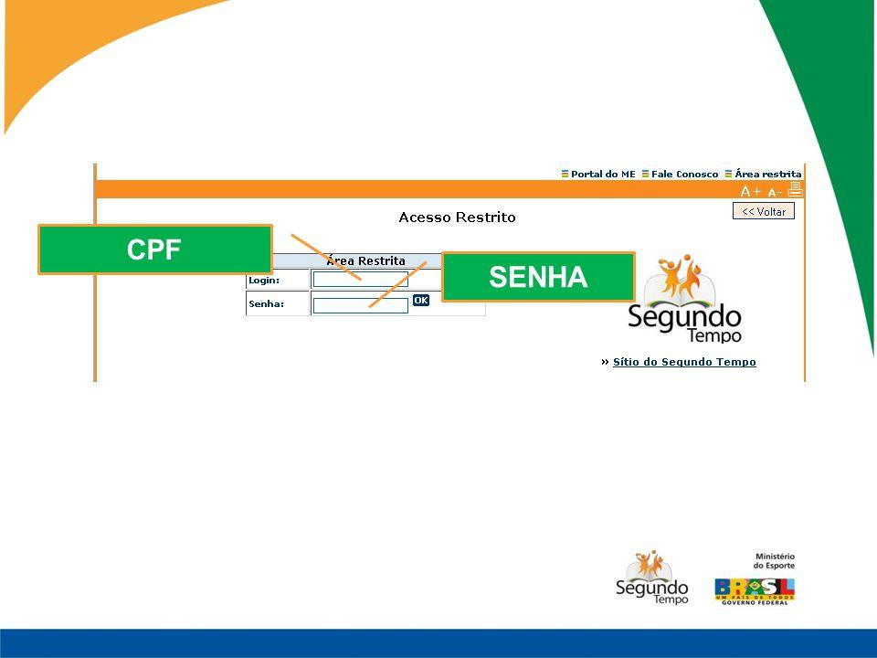 CPF SENHA