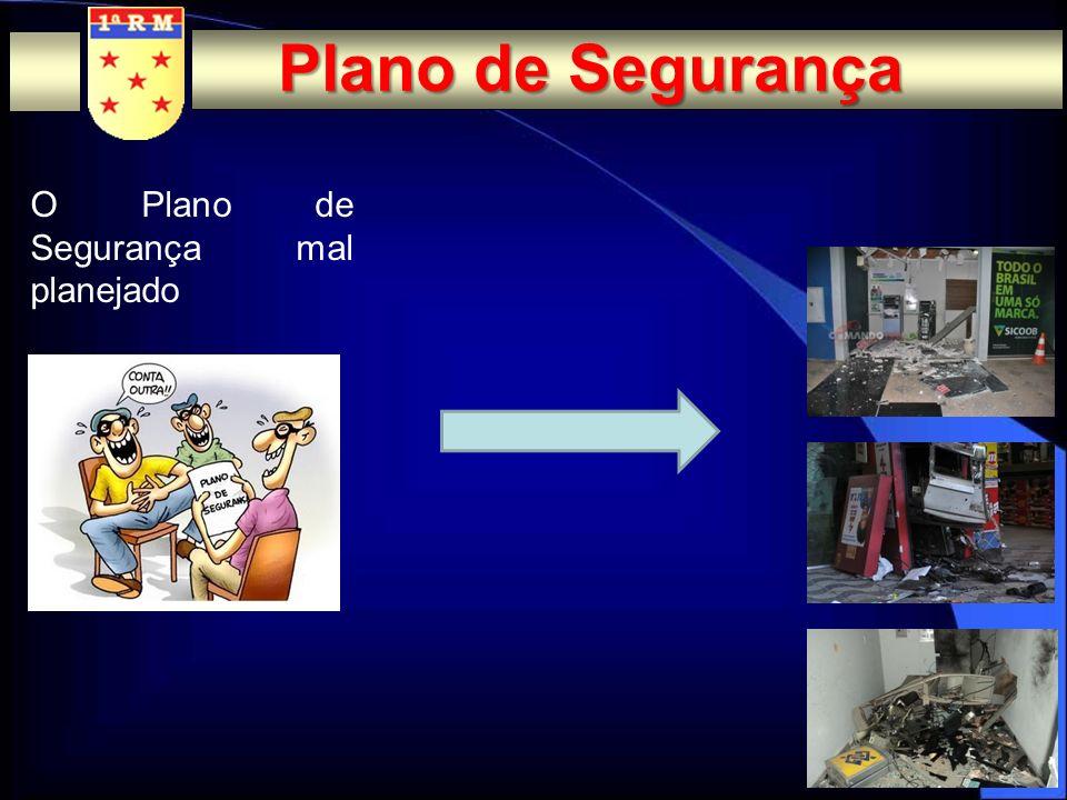 O Plano de Segurança bem planejado Plano de Segurança