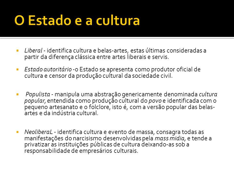 CULTURA COMO CHAVE DE PODER Cultura como chave dos sistemas de poder
