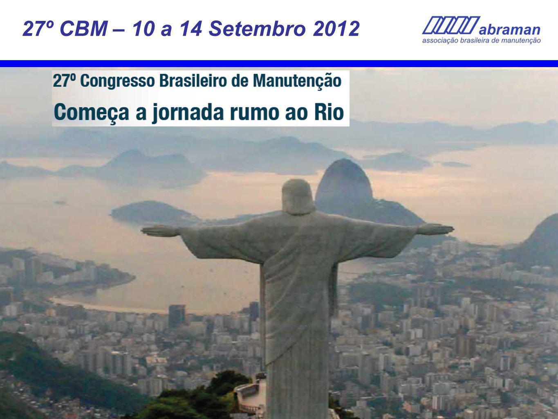36 27º CBM – 10 a 14 Setembro 2012