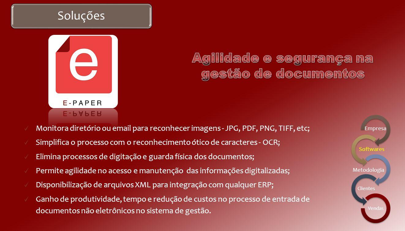 Software É um portal web que permite disponibilizar as Notas Fiscais eletrônicas emitidas para seus clientes; Permite que o cliente destinatário consu