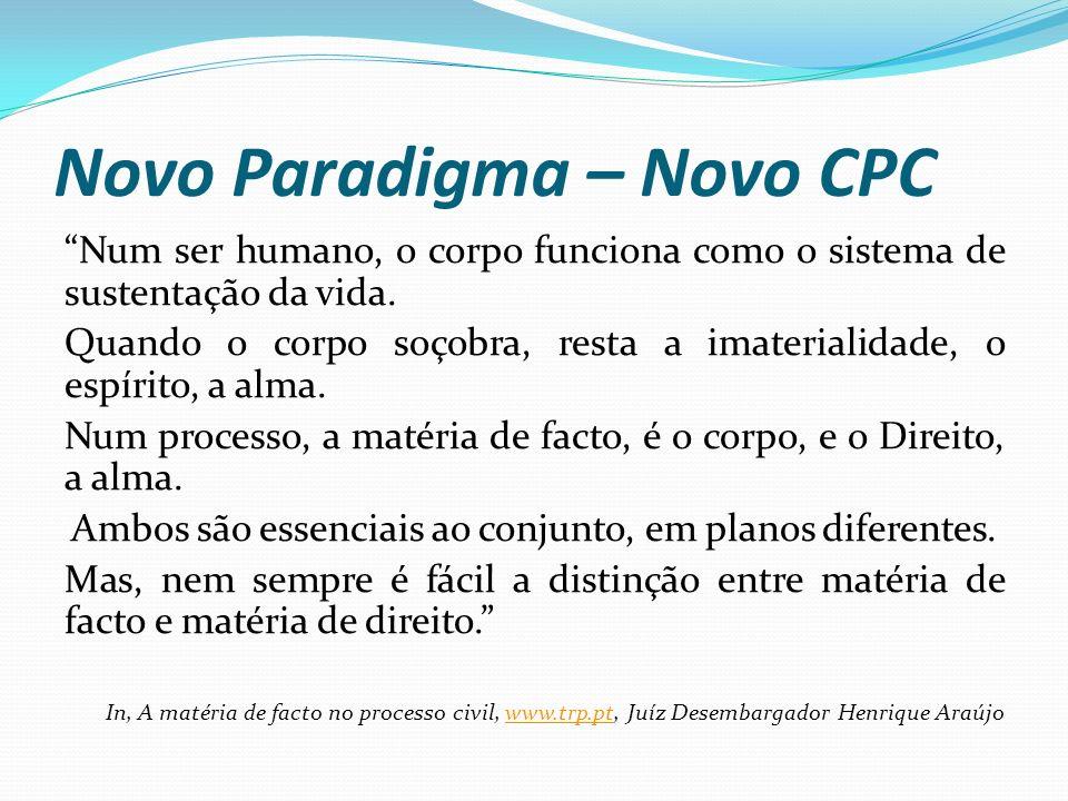 ESPINHO - SEMINÁRIO 29.11.2013 O NOVO PARADIGMA DO PROCESSO CIVIL Um novo desafio.