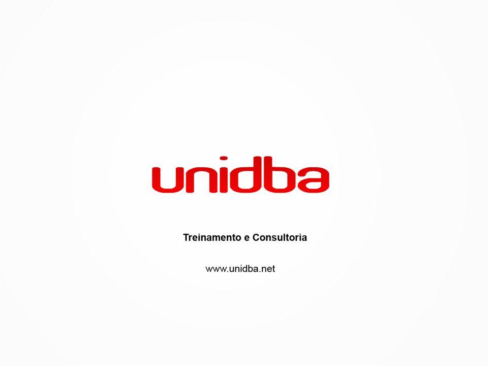 Empresa A UNIDBA é uma empresa que atua no mercado da Tecnologia da Informação, especializada em Treinamento e Consultoria.
