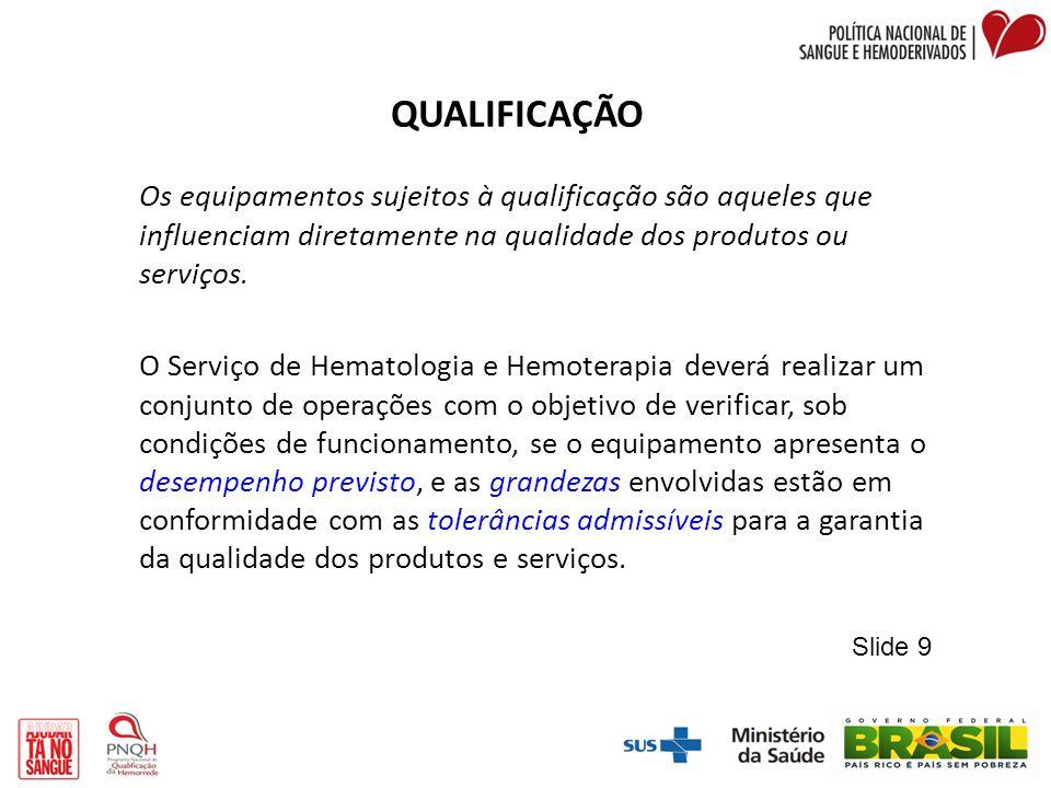 QUALIFICAÇÃO DESEMPENHO Publicação Inicial Data: Anexo III PSQ Página 1 de 2 Nº do Protocolo_ Código da Área TIPO DE QUALIFICAÇÃO ( X ) Qualificação Inicial ( ) Requalificação ( ) Avaliação Periódica ) IDENTIFICAÇÃO DO EQUIPAMENTO Equipamento: Coagulômetro Marca: TCOAGModelo: Destiny Plus Local: Laboratório de Controle de Qualidade do Sangue Data: Data da Qualificação anterior: não se aplica PROCEDÊNCIANº da I.Q.