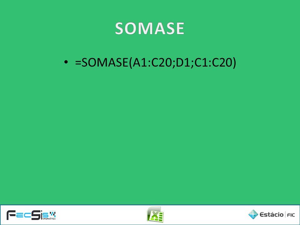 =SOMASE(A1:C20;D1;C1:C20)