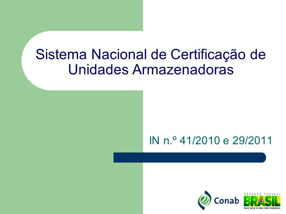 Histórico da Certificação de UAs Lei n.º 9.973, de 29/05/2000 – Art.