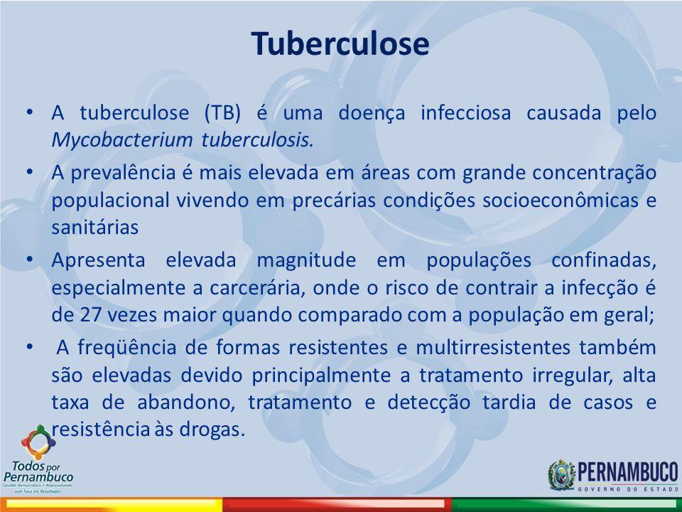 A tuberculose (TB) é uma doença infecciosa causada pelo Mycobacterium tuberculosis. A prevalência é mais elevada em áreas com grande concentração popu