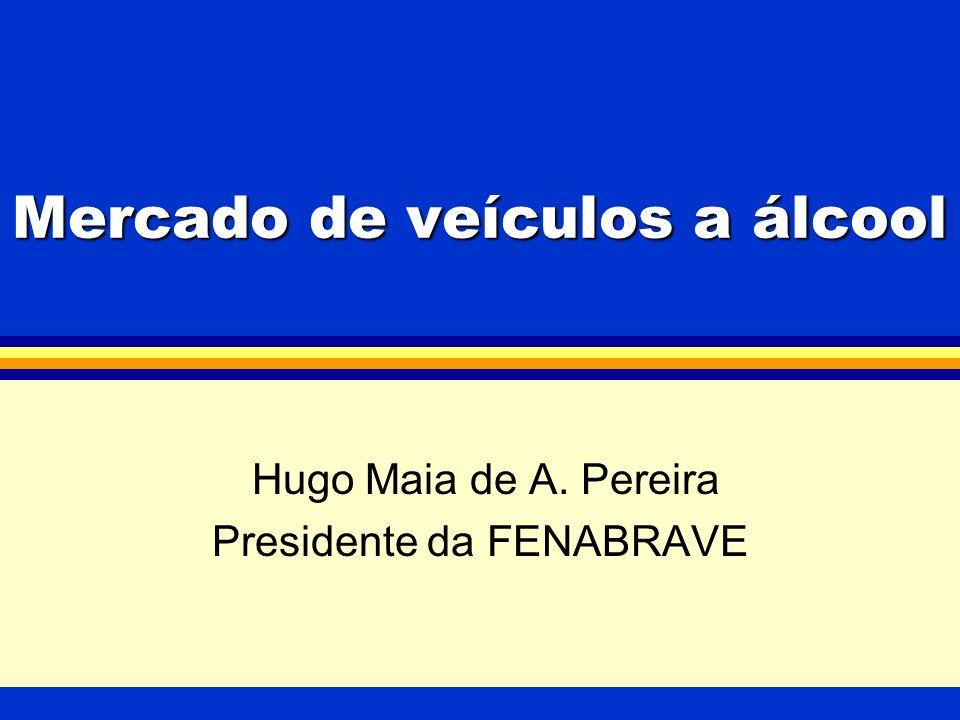 Mercado de veículos a álcool Hugo Maia de A. Pereira Presidente da FENABRAVE