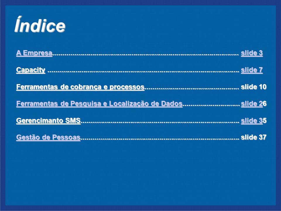 Índice A EmpresaA Empresa...............................................................................................slide 3 slide 3 A Empresaslide