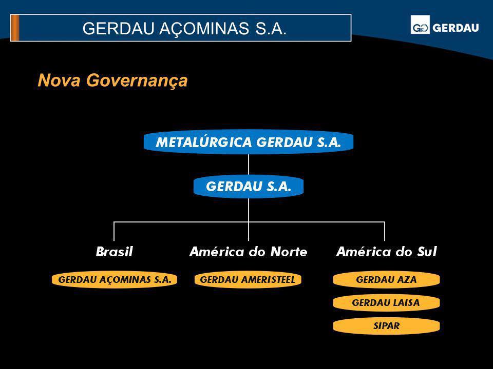 Nova Governança GERDAU AÇOMINAS S.A.