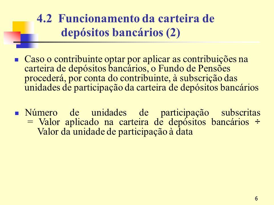 17 Método de aplicação das contribuições – exemplo 2,100 700 1,400 MOP Contribuições da RAEM Totalidade das contribuições mensais : 10,000 Totalidade dos saldos das contas MOP Contribuições individuais