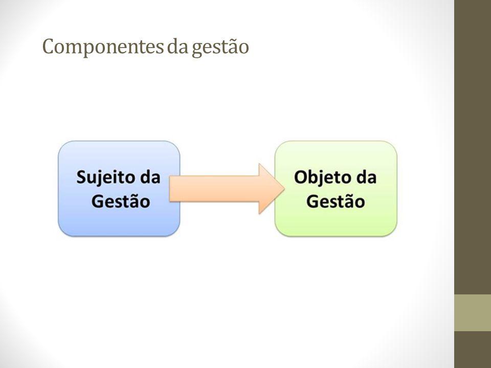 Componentes da gestão