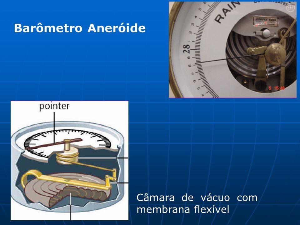 Câmara de vácuo com membrana flexível