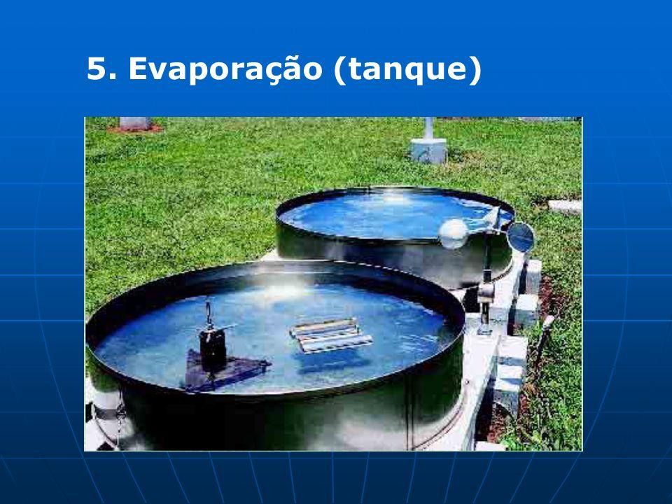 5. Evaporação (tanque)
