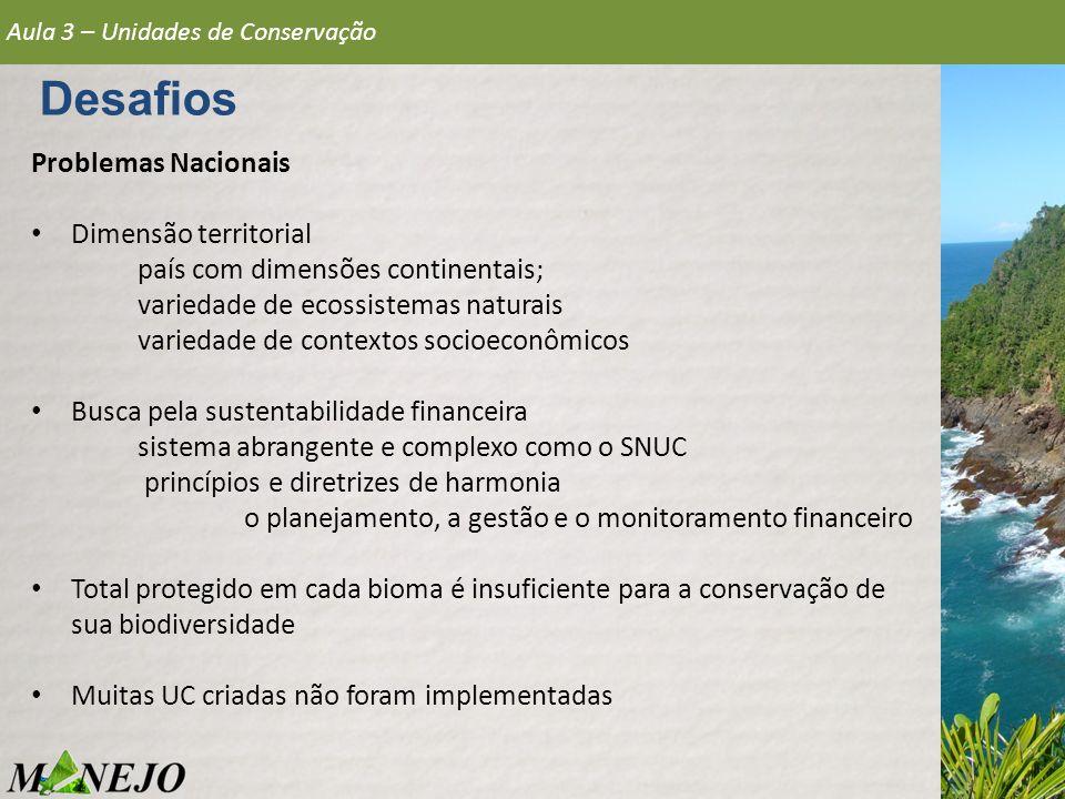Aula 3 – Unidades de Conservação Categorias Unidades de Uso Sustentável 2.Área de Relevante Interesse Ecológico Serra do Orobó Encontra-se inserida nos municípios de Rui Barbosa e Itaberaba, a 315km de Salvador.