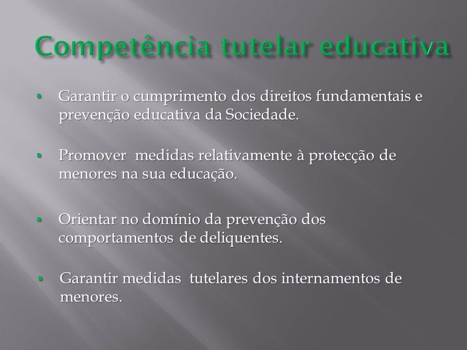 Garantir o cumprimento dos direitos fundamentais e prevenção educativa da Sociedade. Garantir o cumprimento dos direitos fundamentais e prevenção educ