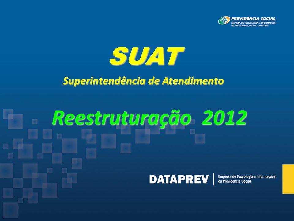 SUAT Superintendência de Atendimento Reestruturação 2012