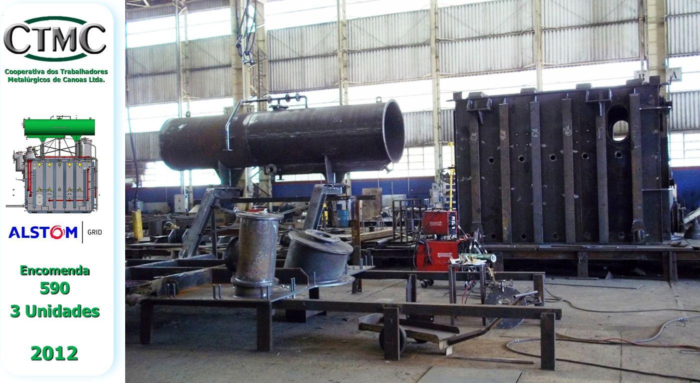 Cooperativa dos Trabalhadores Metalúrgicos de Canoas Ltda. 2012 Encomenda 590 3 Unidades