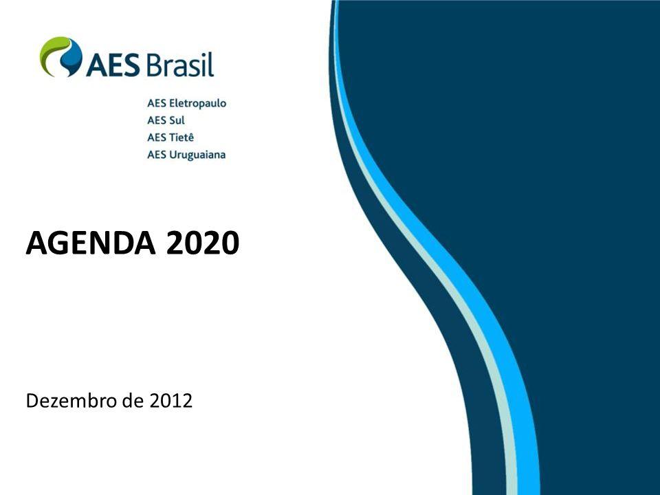 AGENDA 2020 Dezembro de 2012