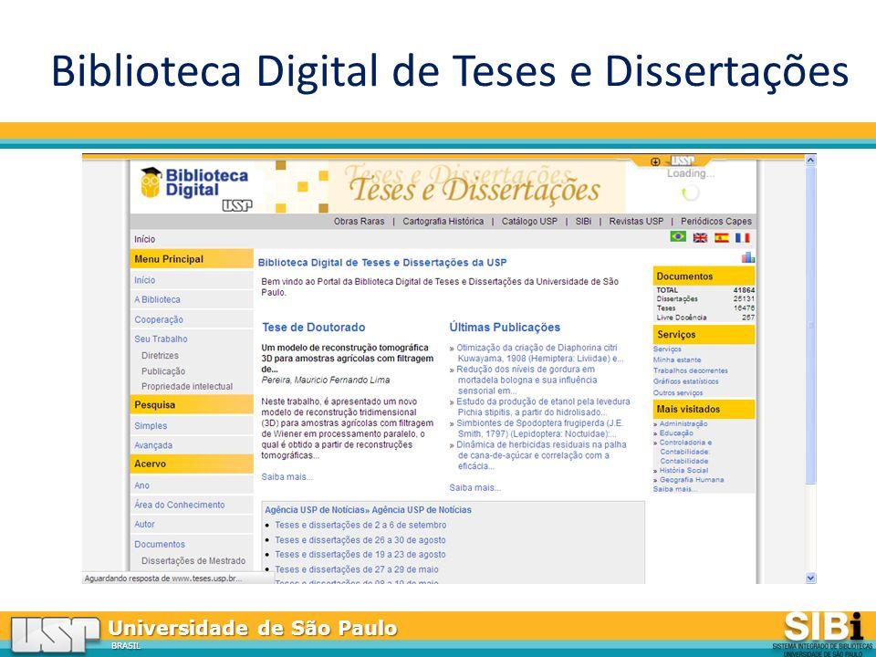 Universidade de São Paulo BRASIL Biblioteca Digital de Teses e Dissertações