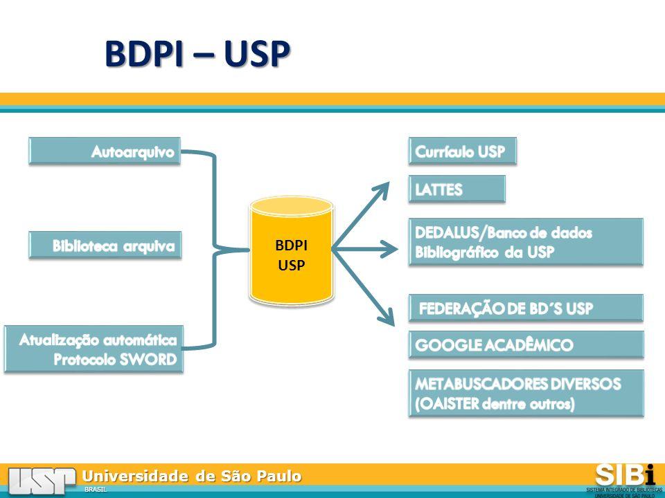Universidade de São Paulo BRASIL BDPI USP BDPI USP BDPI – USP