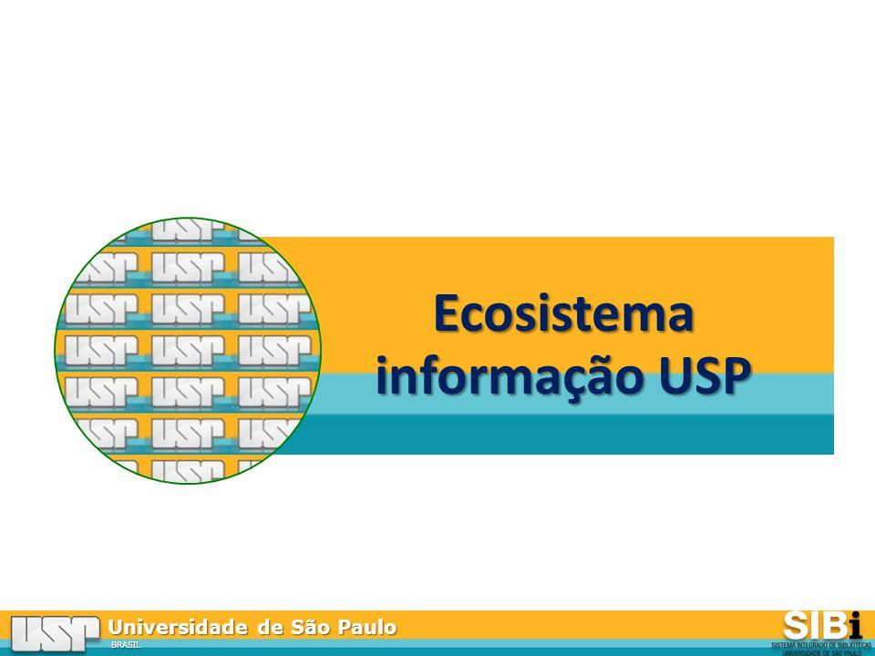 Universidade de São Paulo BRASIL Ecosistema informação USP