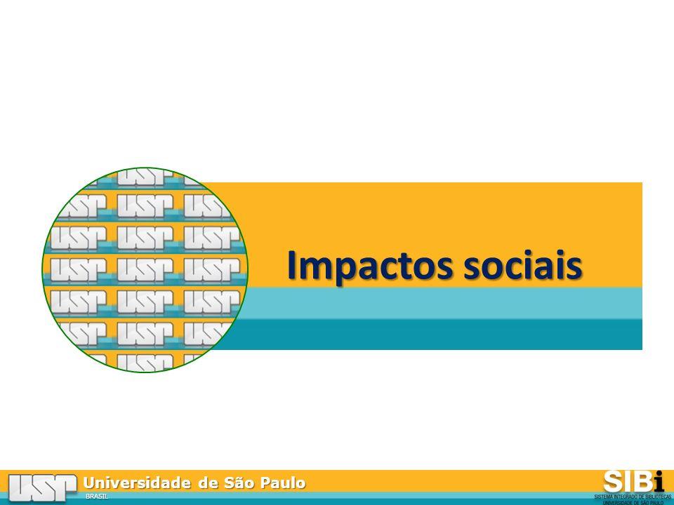Universidade de São Paulo BRASIL Impactos sociais