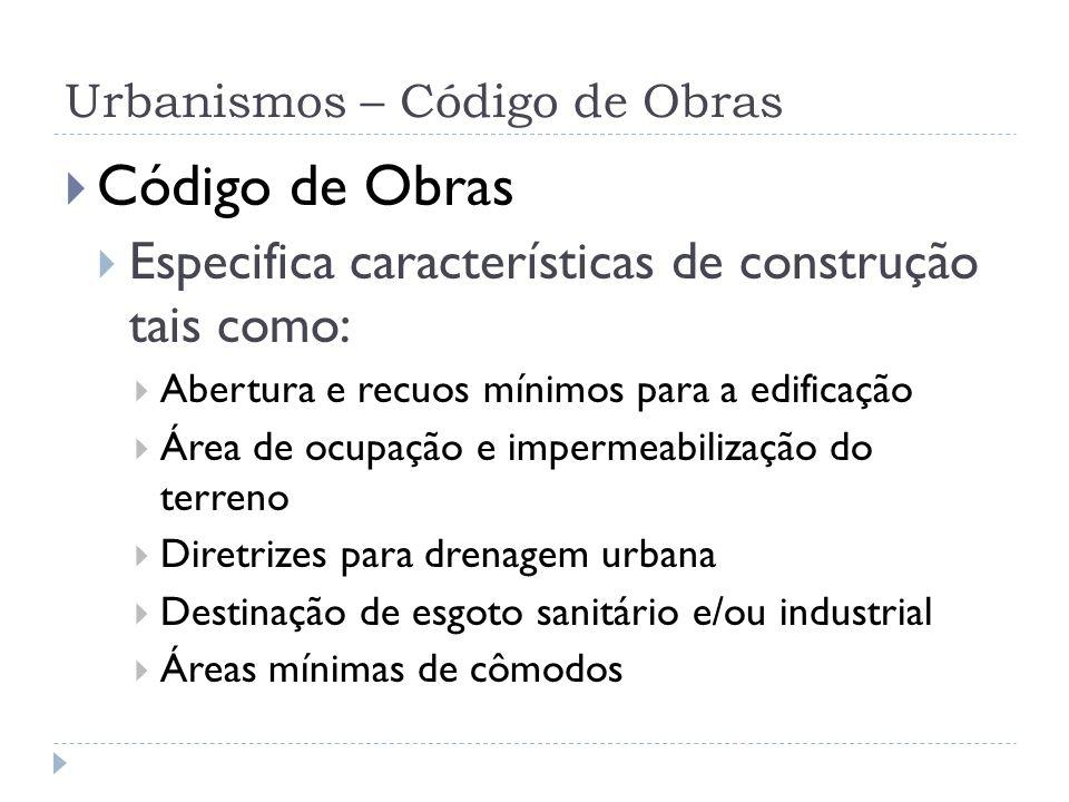 Urbanismos – Cidade Sustentável