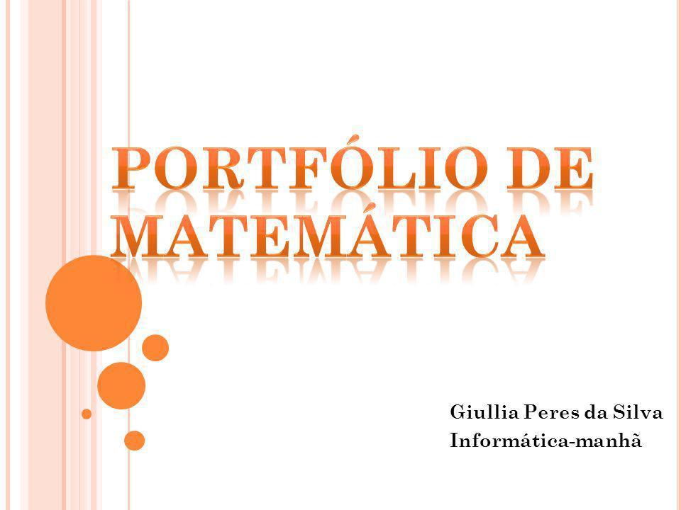 Giullia Peres da Silva Informática-manhã