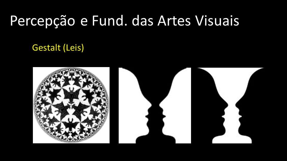 Percepção e Fund. das Artes Visuais Gestalt (Leis)
