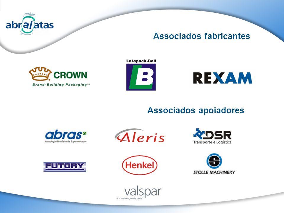 Associados fabricantes Associados apoiadores