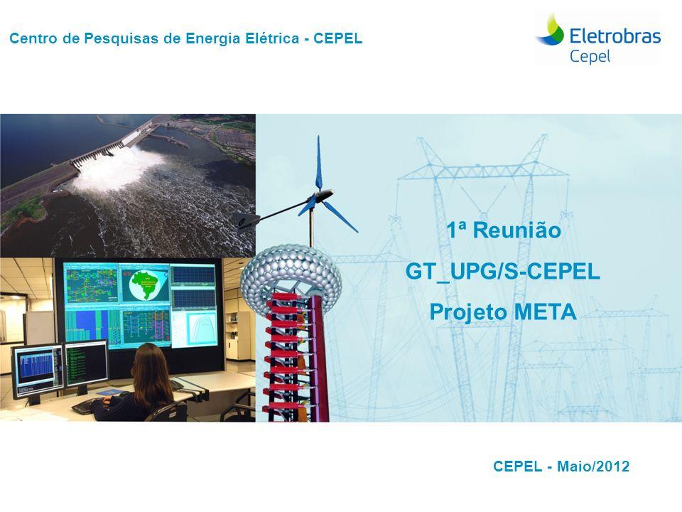 Centro de Pesquisas de Energia Elétrica - CEPELCEPEL| Maio 2012 Centro de Pesquisas de Energia Elétrica - CEPEL Autor/apresentador Área Título do trab