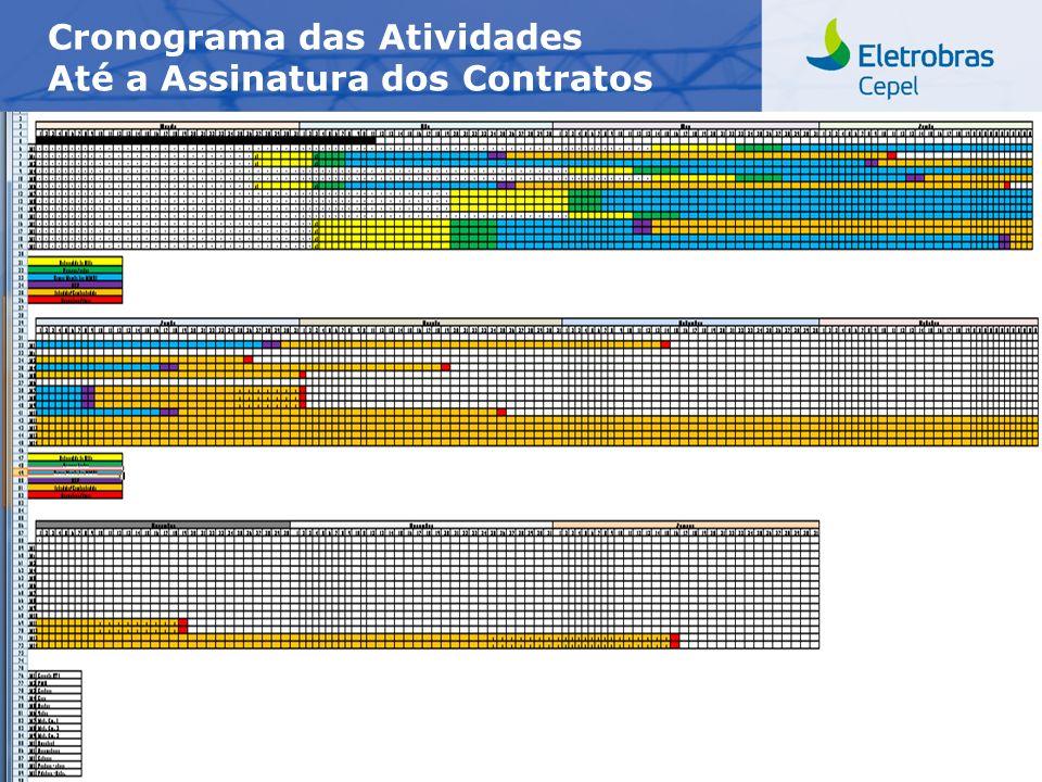 Centro de Pesquisas de Energia Elétrica - CEPELCEPEL| Maio 2012 Cronograma das Atividades Até a Assinatura dos Contratos