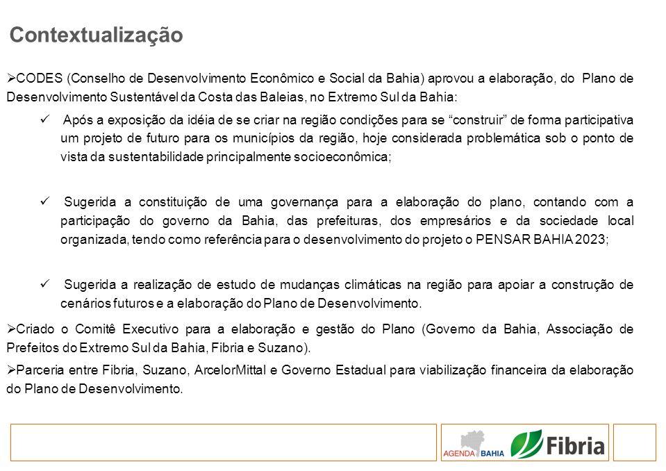 CODES (Conselho de Desenvolvimento Econômico e Social da Bahia) aprovou a elaboração, do Plano de Desenvolvimento Sustentável da Costa das Baleias, no