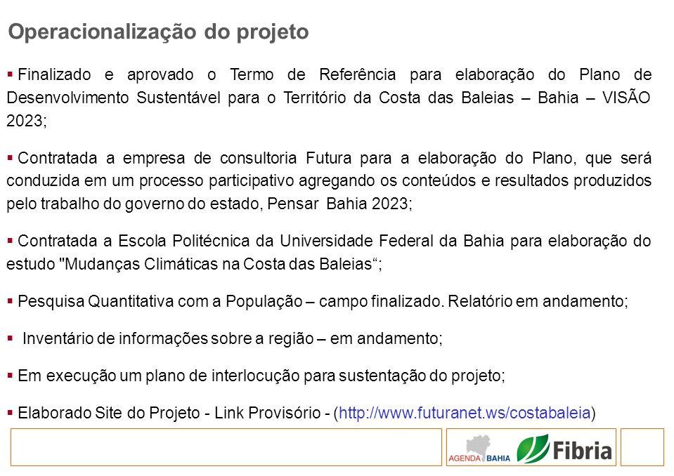 Finalizado e aprovado o Termo de Referência para elaboração do Plano de Desenvolvimento Sustentável para o Território da Costa das Baleias – Bahia – V