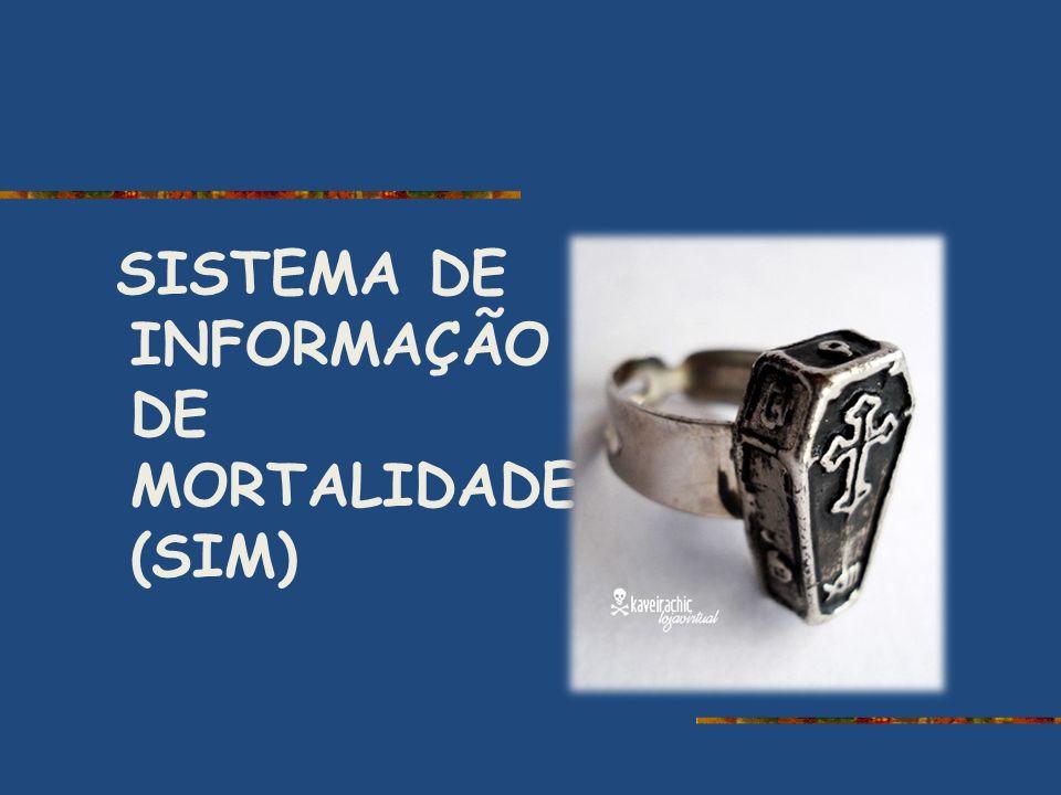 SISTEMA DE INFORMAÇÃO DE MORTALIDADE (SIM)