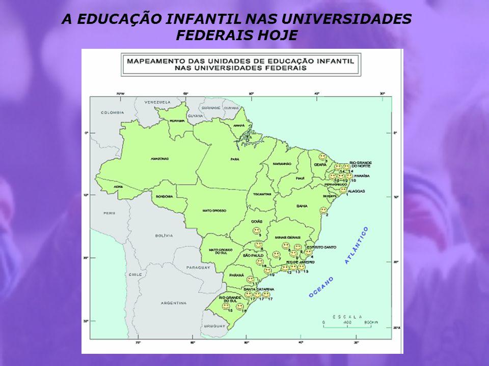 UNIDADES DE EDUCAÇÃO INFANTIL 1.UFAL – NDI ( Núcleo de Desenvolvimento Infantil) 2.