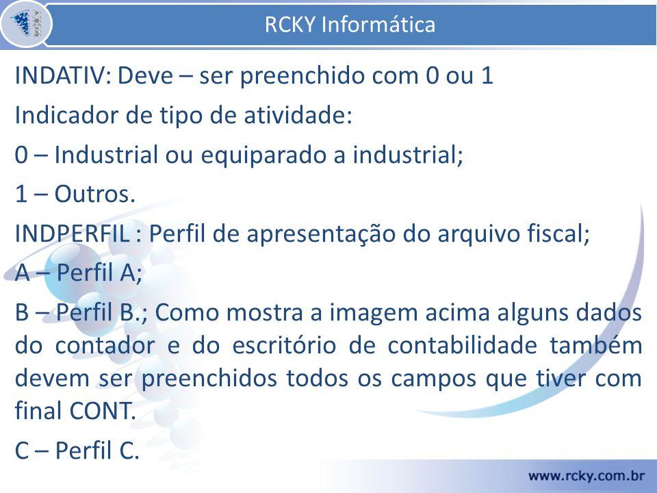 Nome, CPF, CRC, CNPJ, CEP, END, NUMERO, COMPLEMENTTO(se houver), BAIRRO, FONE RCKY Informática