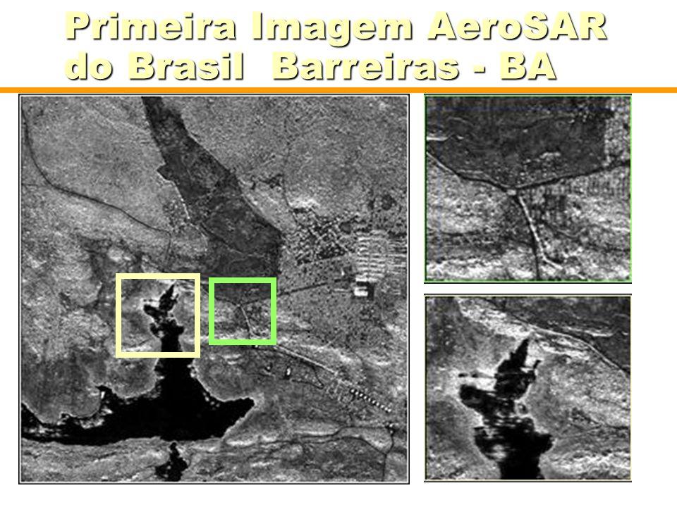 Primeira Imagem AeroSAR do Brasil Barreiras - BA