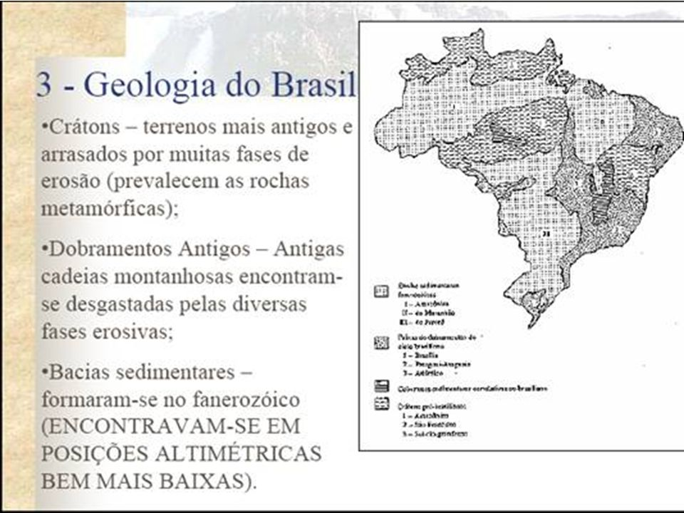 Classificação de Jurandyr Ross Classificação detalhada que considera a geomorfologia, a estrutura geológica e a definição das unidades estudadas.