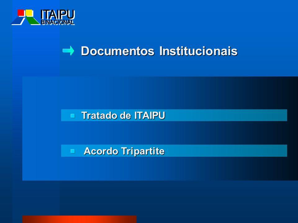 Documentos Institucionais Tratado de ITAIPU Acordo Tripartite