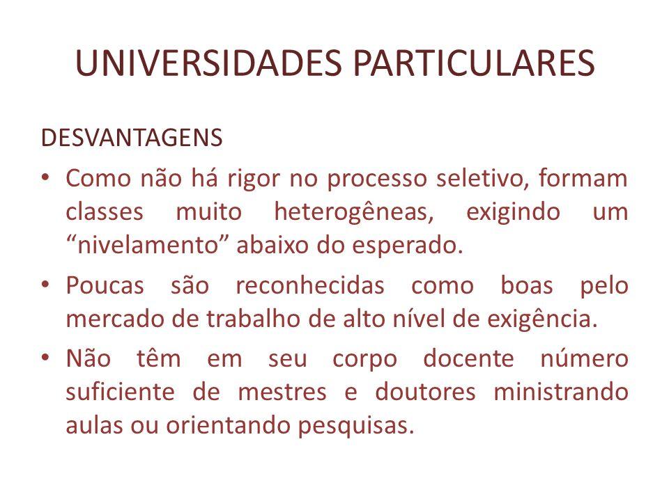 AS TRÊS IRMÃS DO ESTADO DE SÃO PAULO USP – Universidade de São Paulo Capital Butantã – zona oeste da cidade EACH – zona leste da cidade Interior – seis unidades pelo estado.