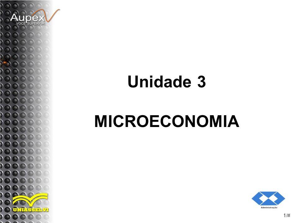 Unidade 3 MICROECONOMIA 1/#