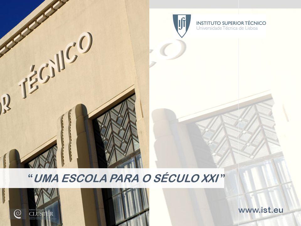 INSTITUTO SUPERIOR TÉCNICO Universidade Técnica de Lisboa 1 www.ist.eu UMA ESCOLA PARA O SÉCULO XXI