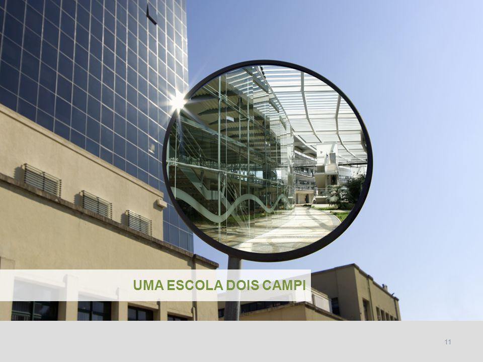 INSTITUTO SUPERIOR TÉCNICO Universidade Técnica de Lisboa 11 UMA ESCOLA DOIS CAMPI
