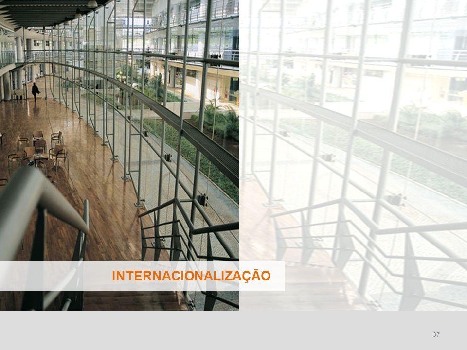 INSTITUTO SUPERIOR TÉCNICO Universidade Técnica de Lisboa 37 INTERNACIONALIZAÇÃO
